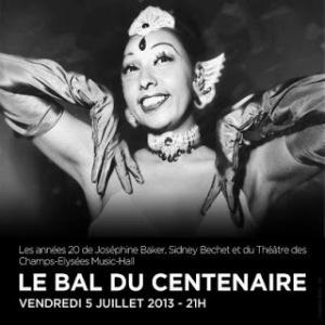 Theatre Champs E Centenaire poster w J Baker