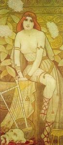 Berthon-CourtisanesCelebres-1898 salomé www.enchantedgal.com
